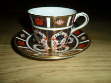 "ROYAL CROWN DERBY"" IMARI, 1128, TEACUP & SAUCER, 1ST,Q, MMVIII, LOT 3,"
