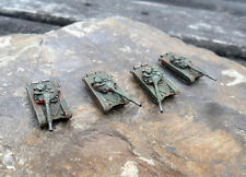 6mm WW3 Cold War Armour. Soviet T80 platoon x4. Finely painted.
