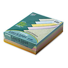 Pacon Array Colored Bond Paper 24lb 8-1/2 x 11 Assorted Parchment 500 Sheets