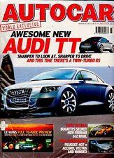 AUTOCAR - June 8-14 2004 - New Audi TT