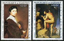 Dahomey C49-C50, MNH. Paintings by Dominique Ingres, French painter, 1967