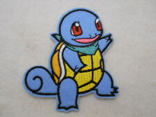 SQUIRTLE  NEW EMBROIDERED  SEW/ IRON ON NAME PATCH TAG