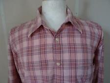 ABERCROMBI & FITCH 'Seersucker' Long-sleeve SHIRT Pink/Check sizeXXL/45/46 110 Y