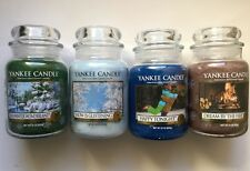 YANKEE CANDLE WINTER WONDERLAND COLLECTION SET of 4-22 oz JARS