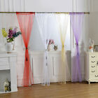 1Piece Solid Multi-Color Sheer Window Curtains/Drape/Panel/Treatment/Valance Hot