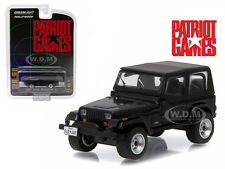 1987 JEEP WRANGLER YJ PATRIOT GAMES MOVIE 1992 1/64 DIECAST GREENLIGHT 44730 B