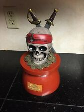 Disney Pirates of the Caribbean Splash N Dash Skeleton Head Water Sprinkler
