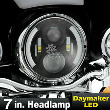 """7"""" 60W OSRAM Daymaker LED Motorcycle Projector Headlight For Harley Davidson"""