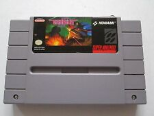 Gradius III 3 For Super Nintendo / SNES Cart - NTSC American Version - Tested