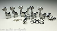 Kluson Lockheads Tuners Mechaniken 6 links rechtshand  Nickel