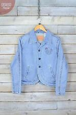 Vintage Levi's Light Blue Denim Blazer Jacket (L)