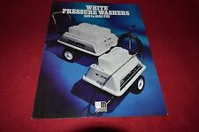 White Oliver Tractor High Pressure Washers Dealer's Brochure HVPA