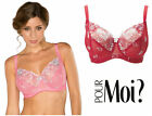 Pour Moi St Tropez Underwired Full Cup Bra 7702 * New Various Lingerie Sizes