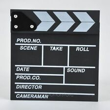 New Clapperboard Clapper Clap Board Movie Sign Direttori Prop Chalkboard