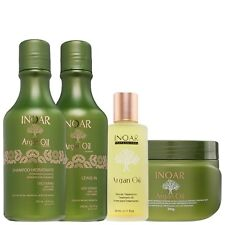 INOAR BRAZILIAN KERATIN TREATMENT ARGAN OIL HOME CARE,SHAMPOO,CONDITIONER, MASK,