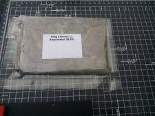 1kg Lithium Metal, Li, Lithium Metall, CAS 7439-93-2, 99,98%
