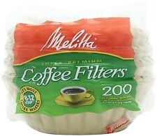 Melitta 8-12 Cup Natural Brown Coffee Filters (200 ct.)