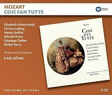 Cosi Fan Tutte - Karl Mozart / Bohm (2016, CD NIEUW)3 DISC SET