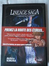 /// NEUF //// Lineage Saga, tome 2  Akihiro Kimura ki-oon MANGA HERITIER ETOILES