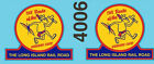 4006 O scale Weekend Chief decals