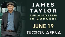 "JAMES TAYLOR & HIS ALL STAR BAND ""IN CONCERT"" 2016 TUCSON TOUR POSTER"