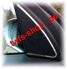 D Mercedes W203 Chrom Rahmen für Türlautsprecher vorne oben  Edelstahl poliert