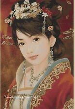 Counted Cross Stitch ORIENTAL LADY - COMPLETE KIT -  No. 3-406 KIT