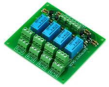 Four DPDT Signal Relay Module Board, 5V version.