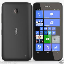 Brand NEW NOKIA LUMIA 635 * 4G * NERO WINDOWS SMARTPHONE 8 * Sbloccato * 8GB 4G LTE