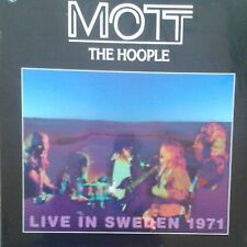 MOTT THE HOOPLE live in sweden 1971 LP NEU OVP/Sealed