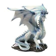 Grawlbane Dragon, large white decorative ornament by Nemesis Now NEM4444