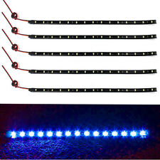 5 x 15 LED 12V 30cm Car Motor Vehicle Flexible Waterproof Strip Light Hot Sale