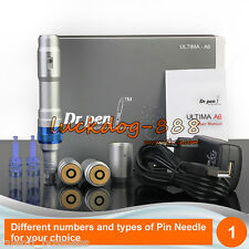 Dr.Pen Derma Pen Ultima A6 Rechargeable Microneedle System + 2 pcs 12Pin Needles
