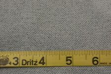 Light Blue & White Tweed Pattern Polyester Suiting Fabric BTY