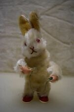 Vintage GERMAN MECHANICAL WIND-UP BUNNY RABBIT A3784