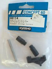 H6114 Kyosho RC Helicopter Concept 60 Rudder Joing Lever New In Package