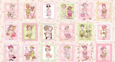 Breast Cancer Awareness On The Mend Loralie Harris Designs Cotton Fabric PANEL