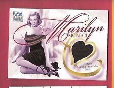 MARILYN MONROE WORN DRESS RELIC SWATCH CARD 2002 TOPPS AMERICAN PIE AMERICANA