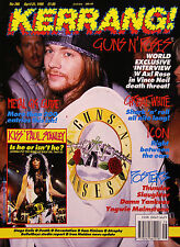 Kerrang! Magazine #286, 1990 Guns N' Roses, Great White, Sam Kinison