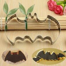 Halloween Fondant Cookies Cutter Mold Bat Man Cake Decoration Mould Gift CSUP