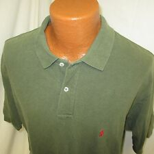 (Large) Men's Polo by Ralph Lauren Polo Shirt Logo Green