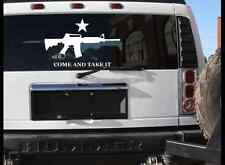 LARGE COME AND TAKE IT ASSAULT LIFE STICKER DECAL 2A TRUCK WINDOW STICKER DECAL