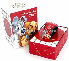 2017 Disney Valentine's Day Lady and the Tramp MagicBand Red Magic Band LE 2500