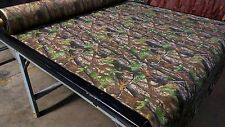 "REALTREE HARDWOODS HD GREEN 500D OUTDOOR CAMO FABRIC 60""W HUNTING CORDURA DWR"