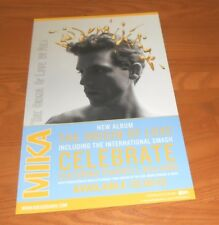 Mika The Origin of Love 2012 Promo 2-Sided Poster 11x17