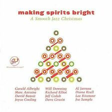 christmas:Making Spirits Bright: Smooth Jazz-DIANA KRALL/DAVE GRUSIN/ETC. NEW CD