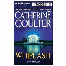 WHIPLASH unabridged audio book on CD by CATHERINE COULTER