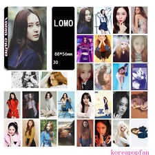30pics set FX F(X) KRYSTAL LOMOCARDS CARD KPOP 4WALLS DIMENSION