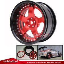 2pcs New RC 1/10 Super Alloy Rims Wheels For Drift On-road touring upgrade Part