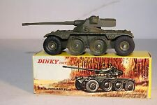 1960's Dinky Toys, No. 827 E.B.R. Panhard FL 10 Tank, Boxed